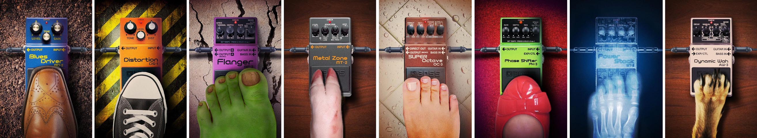 Boss Pedals Tube Sound
