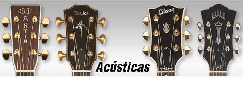 Guitarras Acústicas en Tube Sound