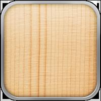 . La tapa armónica de una guitarra juega un papel fundamental en la generación del sonido. Las maderas blandas como la Pícea o el Cedro son las más utilizadas para ello. La ventaja de estas especies es que son ligeras pero fuertes, especialmente cuando están cuarteadas, y su elasticidad les permite iniciar el movimiento fácilmente aunque la guitarra se rasguee o se toque con los dedos de forma sutil. Estas maderas suelen producir un amplio rango dinámico con unos agradables armónicos que enriquecen el tono.