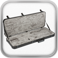 El estuche moldeado Elite cuenta con contornos que protegen tu querido instrumento, pestillos TSA para una mayor seguridad y capacidad para ser apilado fácilmente y facilitar el transporte.