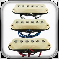 Diseñadas para un auténtico tono Fender, estas Single Coils con imanes Alnico V son potentes, nítidas y articuladas, con todo el tono de una Strat pero con un toque moderno.