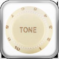 Rompiendo con la tradición, se ha agregado un control de tono para la pastilla del puente, que te da más control en las posiciones uno y dos.