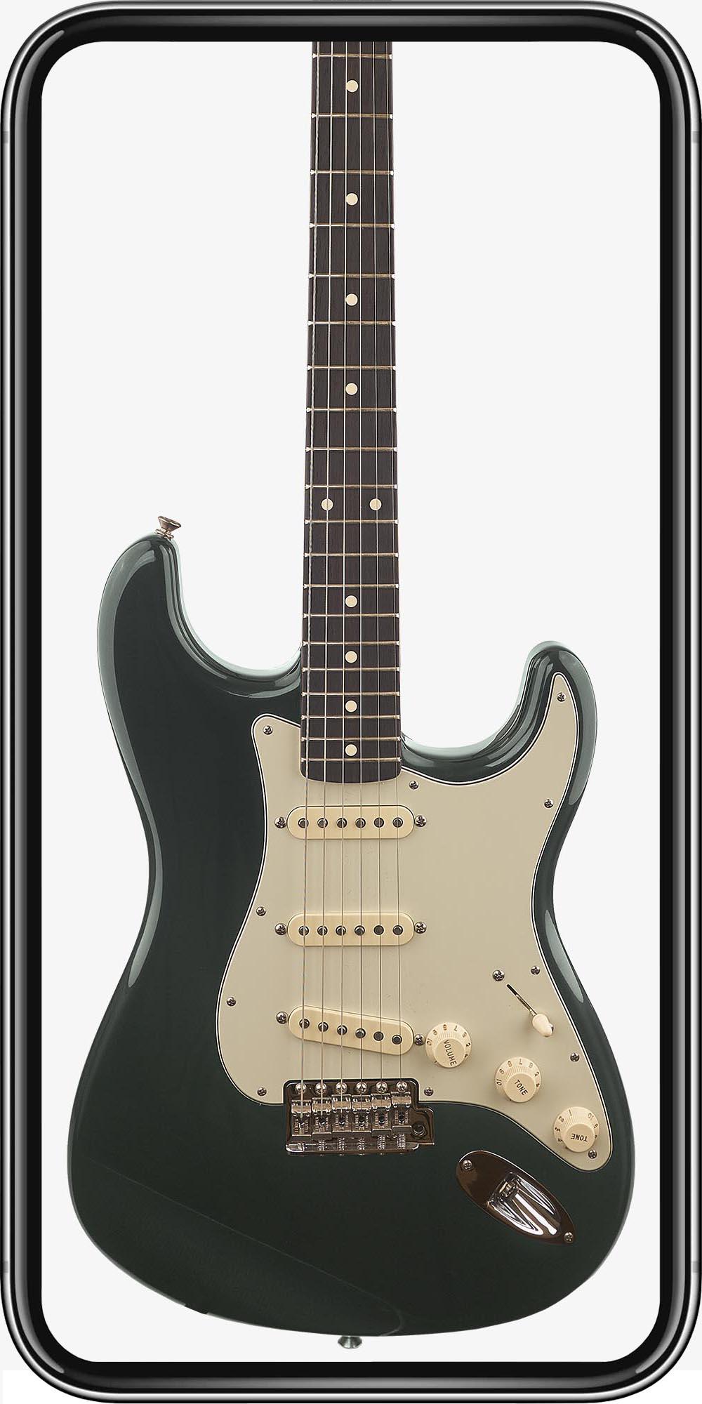 Fender Custom Shop Stratocaster 60s NOS RW Dark British Racing Green