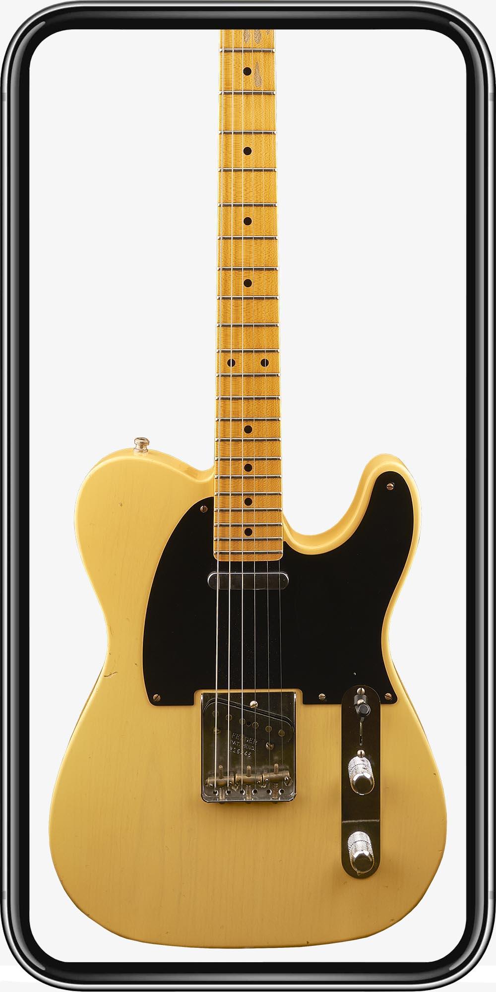 Fender Custom Shop Telecaster 52 Ltd.Ed. Mod Journeyman MN Nocaster Blonde
