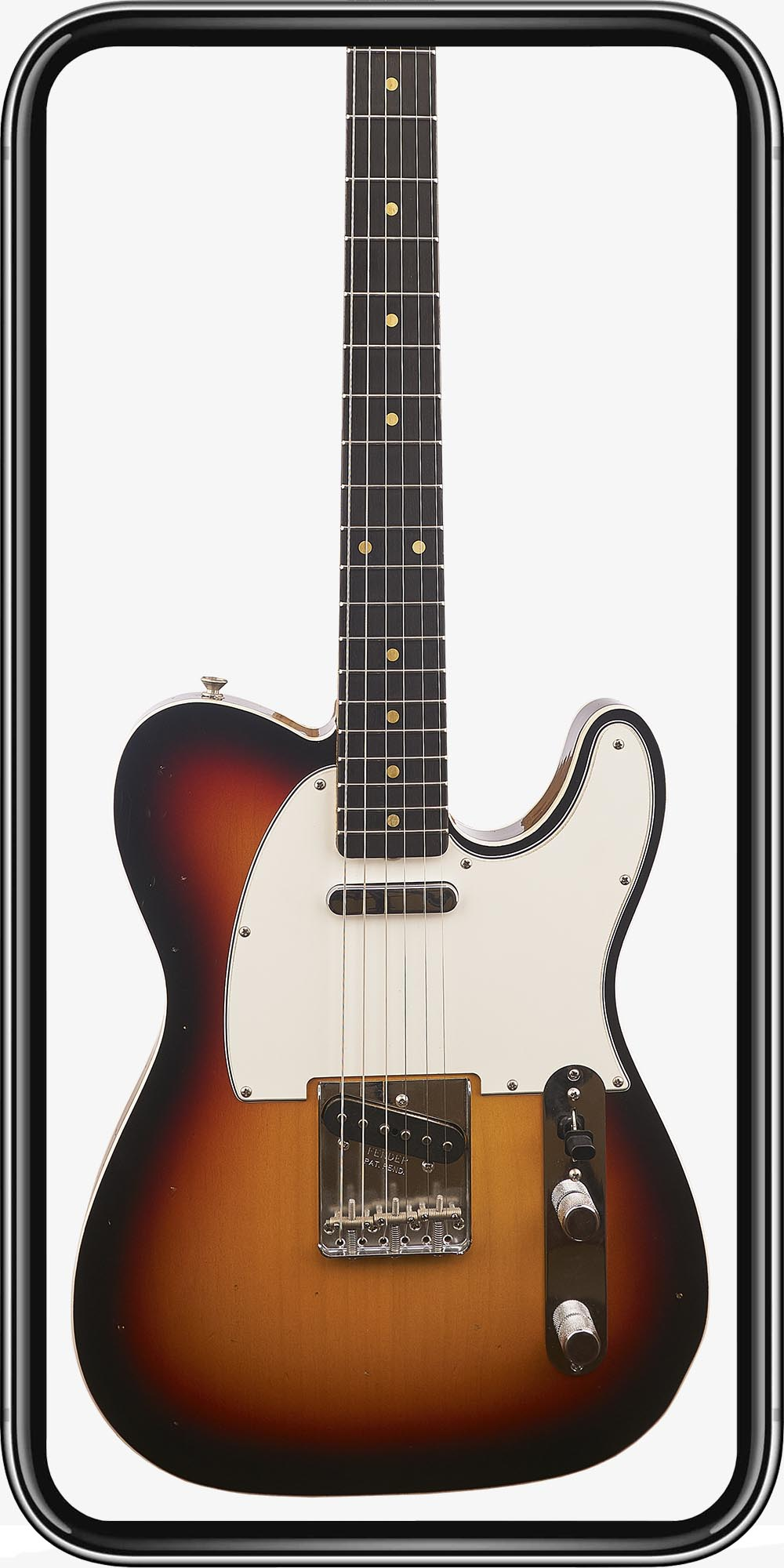 Fender Custom Shop Custom Order Telecaster Custom '60 RW Journeyman 3 Color Sunburst