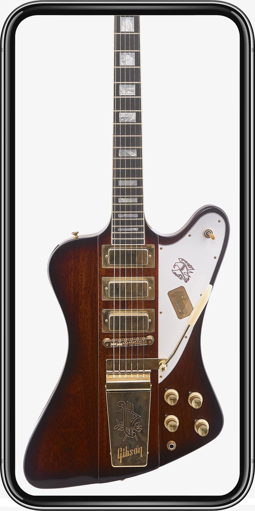 Gibson Custom Firebird VII '65 VOS Vintage Sunburst
